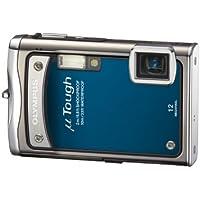 """Olympus  TOUGH-8000 Appareil photo compact numérique 12 Mpix Zoom Optique 3,6x Ecran LCD 2,7"""" Etanche et anti-choc Bleu"""