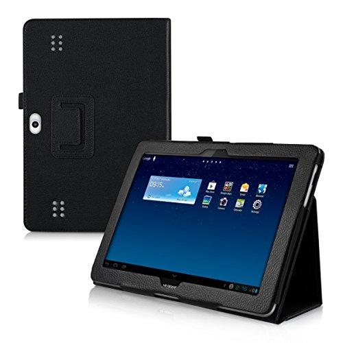 kwmobile MediaPad 10 Link Hülle - Tablet Schutzhülle für Huawei mit Ständer, 25.6 cm (10,1 Zoll), schwarz -