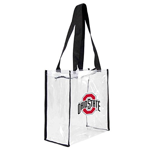 ncaa-ohio-state-buckeyes-square-stadium-tote-115-x-55-x-115-inch-clear-by-littlearth