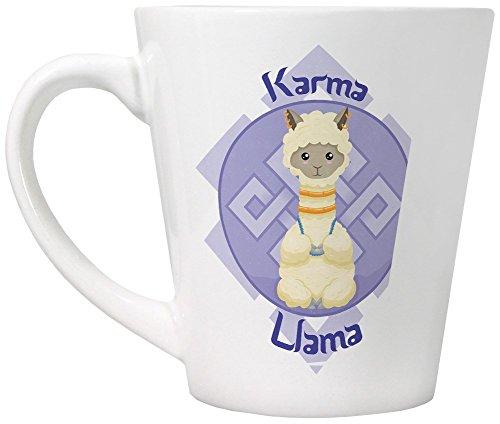 Tasse Karma Llama blanc