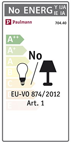 Paulmann  <strong>Entsorgungshinweis</strong>   Batterien oder Akkus bitte nicht im Hausmüll entsorgen