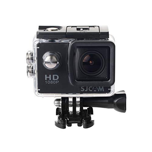 SJCam SJ4000 - Videocámara Deportiva (Full HD, 2'' LCD, Sumergible 30m) Color Negro
