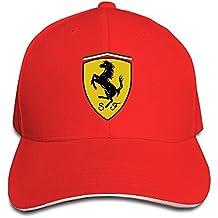 Gorra Ferrari Yhsuk de color rojo 2123f2481a4