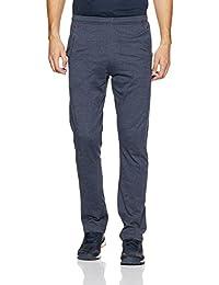 Hanes Men's Cotton Track Pants (8907378022158_MPP92-063-PL_Large_Blue Melange)