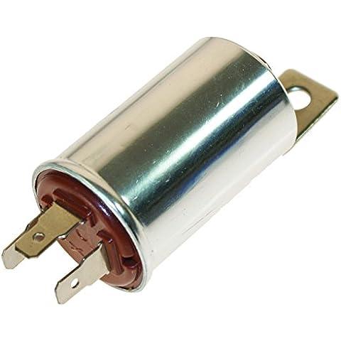 FL3 12 V 3 pin redondo Teckniks intermitente fusible