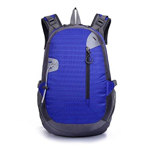 Freizeit Im Freien Sport Rucksack Wandern Tasche Leicht Blue