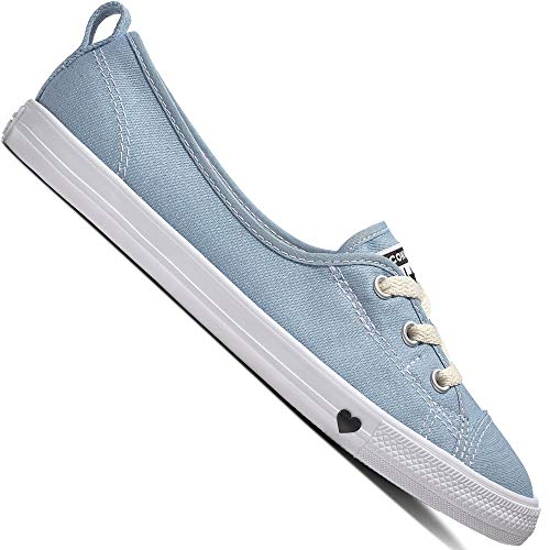 Converse Chuck Taylor All Star Ballet Lace Slip 563492C Damen-Schuhe Light Blue Gr. 36 (US 5.5)