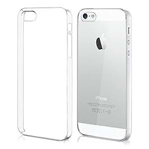 Custodia chic Crystal Hard Case super sottile per Apple iPhone 5 / 5S, colore Trasparente - Completa il design del vostro Apple iPhone 5 / 5S