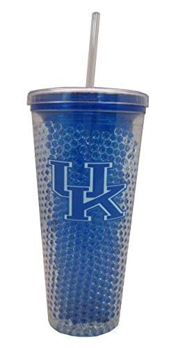 HUNTER NCAA Kentucky Wildcats Trinkglas mit Trinkhalm, 625 ml (Stroh Mädchen Tumbler Mit)