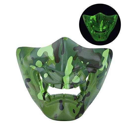 Für Erwachsenen Sonnenschein Tragen Kostüm - Aishankra Leuchtende Halloween Maske Bekleidungsdekoration Requisiten