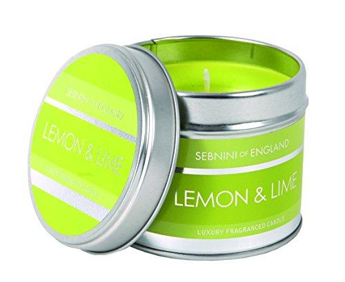 Sebnini - Vela aromática en lata (aroma a limón y lima