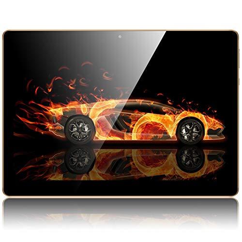 Tablet 10 Zoll, Android Tablet Qimaoo Tablett Android 8.1 mit 2 GB RAM 32 GB ROM IPS HD (1280 x 800), Dual Kamera Tablet PC Quad Core CPU, WiFi /GPS/Bluetooth/ Dual SIM Unlocked 3G Tablets