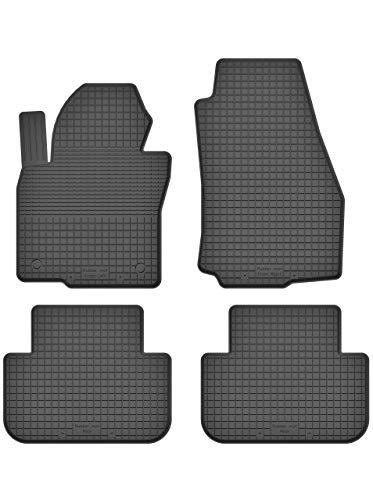 KO-RUBBERMAT Tappetini in Gomma 1,5 cm Bordo Adatto per Mitsubishi Pajero Anno di Costruzione 1990-2008 Set da 4 Pezzi