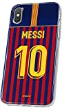 MYCASEFC Coque Messi Personnalisable Foot PERSONNALISÉE (iPhone 4/4S)