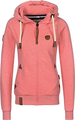 Sweater Hooded Zip Women Naketano Blonder Engel Zip Hoodie
