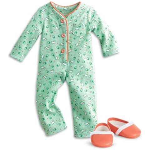 American Girl - Beforever Kit - Kit's One-Piece Pajamas for Dolls by American Girl
