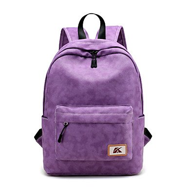Unisex Rucksack Canvas All Seasons formale Sport and Outdoor Büro & Karriere Professioanl nutzen Sie die Schaufel ZipperPeach Amethyst Blue