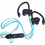 Tulip Wireless Bluetooth 4.1 In-Ear Noice Isolating Sport Earbuds With Mic And Controller, For Running, Jogging