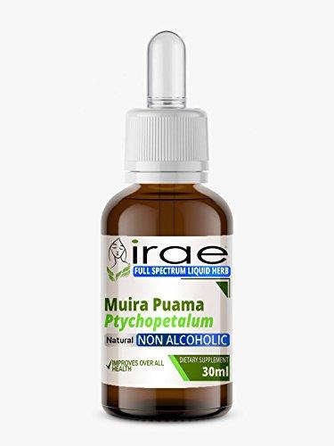 Muira Puama Ptychopetalum Full Spectrum Alkoholfreie flüssige Extrakt 30 ml