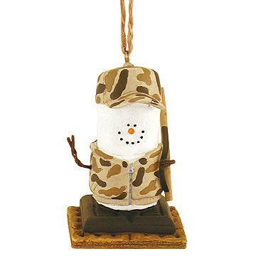 S'mores Camo Hunter Resin Hanging Christmas Ornament by Midwest-CBK