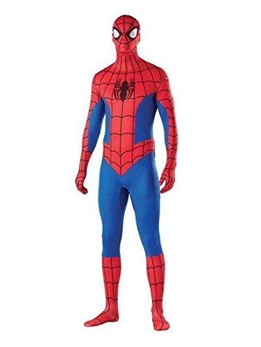 Imagen de zentai animal  disfraz unisex para adulto material lycra y elastano , diseño de superman  large alternativa