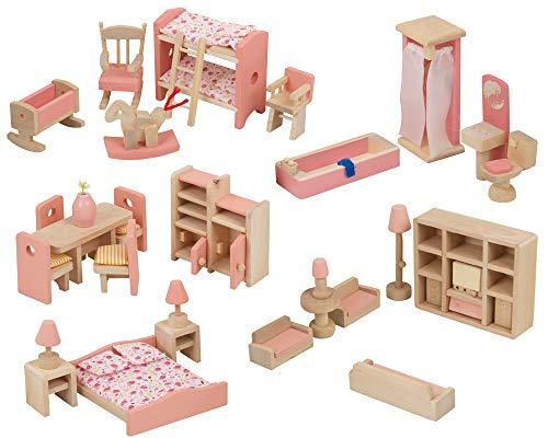 URBN Toys Children Wooden Doll H...