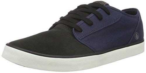 Volcom Herren Grimm 2 Shoe Low-Top Blau (Midnight Blue) 44.5 EU
