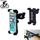 FASTPED Motorcycle with 360 Degree Rotation Cell Phone Cradle Mount Holder for All
