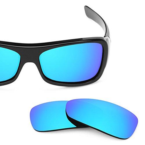 Verres de rechange pour Oakley Montefrio — Plusieurs options Bleu Glacier MirrorShield® - Polarisés