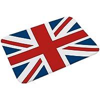 BESTOYARD Bandera británica Alfombras Antideslizantes Alfombras de Piso esteras del Dormitorio Alfombra Que Absorbe el Agua decoración para baño Cocina 38x58cm