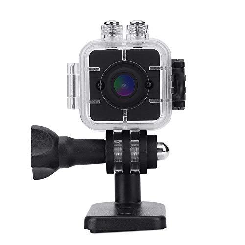 Infrarot Mini Kamera Nachtsicht HD Camcorder Wasserdicht Cube 1080P Sportkamera mit Halterungen