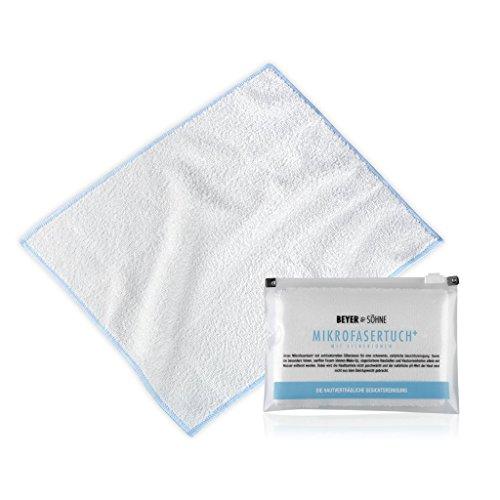 MIKROFASERTUCH+ sanfte Gesichtsreinigung, antibakteriell, im hochwertigen Etui