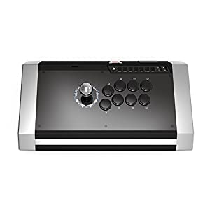 Qanba Obsidian Joystick for PlayStation 4 and PlayStation 3 and PC (Fighting Stick) Officially Licensed Sony Product