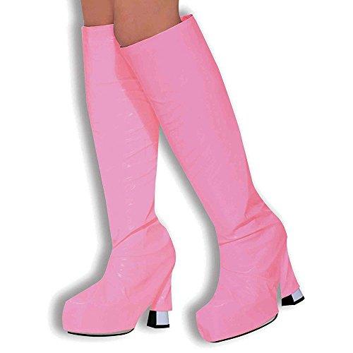 Forum Novelties Bristol Novelty BA315 Decken für die Stiefel, Rosa, Damen, rose, Einheitsgröße (Halloween Gogo Special)