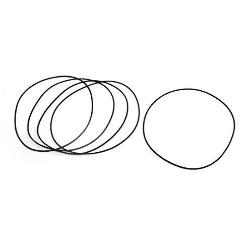 Ersatz Mechanische Flexible Gummi Öl versiegelt O Ring 130x 2mm 5PCS
