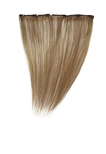 Love Hair Extensions - LHE/A1/QFC12/16/12 - 100 % Cheveux Naturels - Barrette Unique Extensions à Clipper - Couleur 12 - Brun Doré - 41 cm