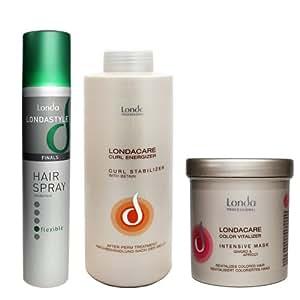 Londa / Londacare Shampooing Couleur stabilisateur et intensif Vitalizer Couleur Masque & Hair Spray Brillance