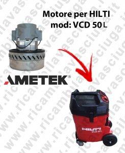 VCD 50L Motor aspiración ametek aspiradora te Hilti