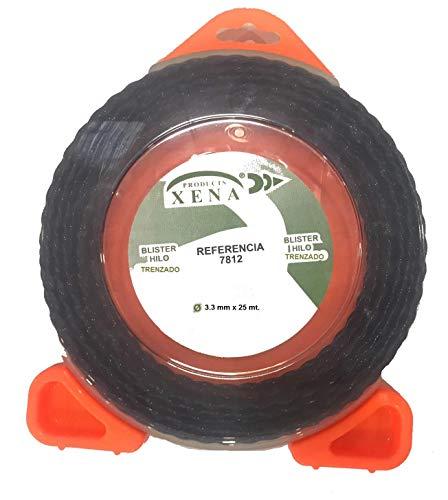 Blister de hilo trenzado 3,3 mmx25 mt.para desbrozadora