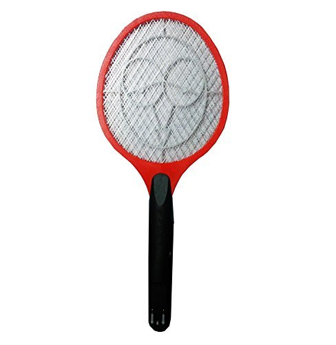 BJE Rechargable Electric Mosquito, Fly, Insect Killer Racket Zapper Bat,...