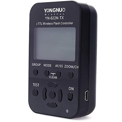 Yongnuo YN-622N-TX sans fil LCD i-TTL émetteur Trigger contrôleur de flash pour Nikon D70 D70S D80 D90 D200 D300S D600 D700 D800 D3000 D3100 D3200 D5000 D5100 D5200 D5300 D7000 D7100 LF329