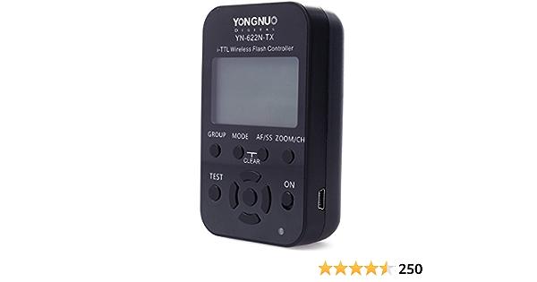 Yongnuo Yn 622n Tx Lcd Funk I Ttl Flash Controller Kamera
