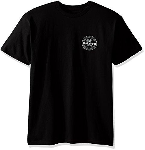Brixton Herren T-shirt Soto Ii Standard black/grey