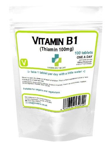 Vitamin B1 100mg /100 Tablets