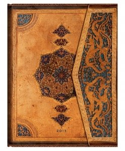 Paperblanks agenda safavide 180×230 mm 1 jour par page Janvier 2013 à Décembre 2013