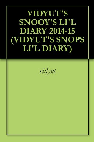 SNOOPY'S LI'L DIARY 2014-15 (SNOOPYS LI'L DIARIES) (English Edition) (2014 Snoopy)