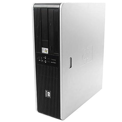 PC HP Compaq DC5750 SFF AMD Sempron 2GHz 1Go DDR2 80Go Windows XP Professionnel