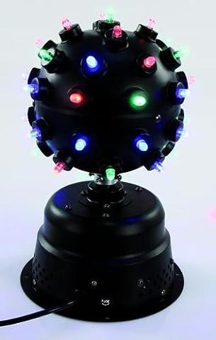 Boule disco effets lumineuses 39 DEL 16 Watts diamètre 16,5 cm Fantastic-Ball fête LED