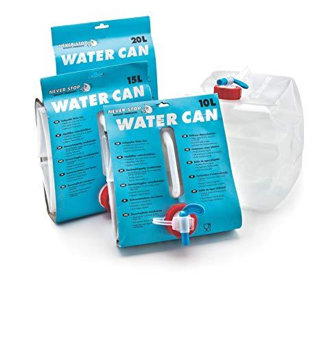 Never Stop 2720C Faltbare Wasserkanister 20 Liter