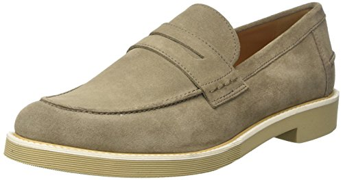 Geox U Damocle D, Mocassins Homme Beige (Taupec6029)